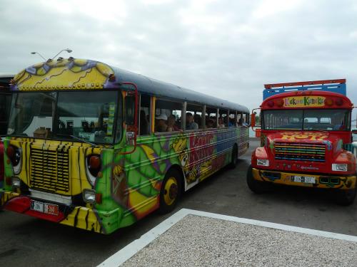 Aruba Tour Buses