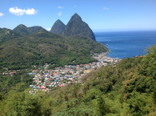 The Pitons Soufriere St Lucia