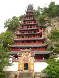 Shibaozhai Temple