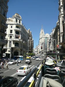 Gran Via Madrid HOHO Tour