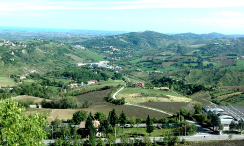 San Marino countryside
