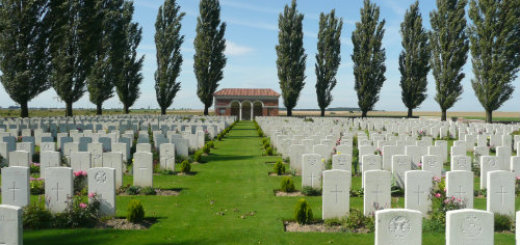 War Cemetery Bullecourt France