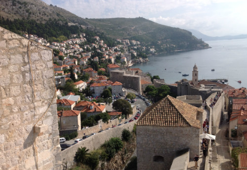 Dubrovnik looking north east