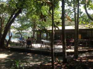 Thorntons Beach cafe