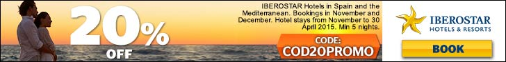 coupon, iberostar, offer