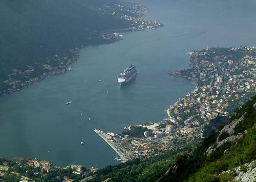 Kotor harbour