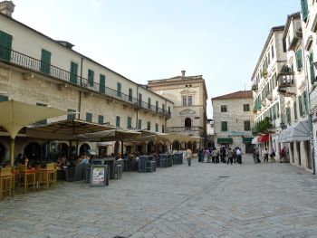 Kotor piazza