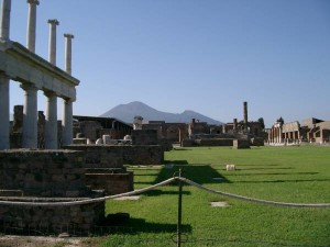 The Forum Pompei