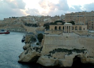 Leaving Valletta