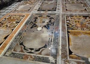 Marble tombstones