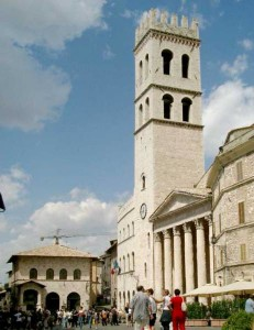 Piazza Commune Assisi