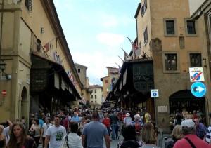 Ponte Vecchio shops