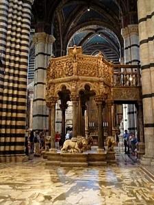 Pulpit Siena Duomo