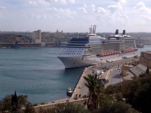 Silhouette in Malta