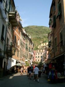 Vernazza main street