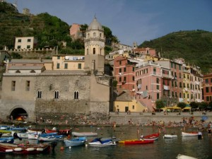 Vernazza seafront