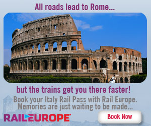 Italy Rail Pass from Rail Europe