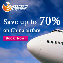 Save up to 70% on China airfare