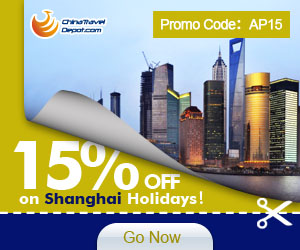 15% off on Shanghai Activities