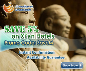 Save 5% on Xian Hotels