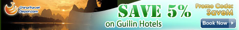 Save 5% on Guilin Hotels