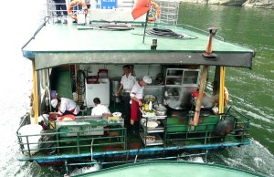 R Li cruise boat kitchen