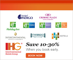 Book Early and Save 10-30% Off Your Next Stay!