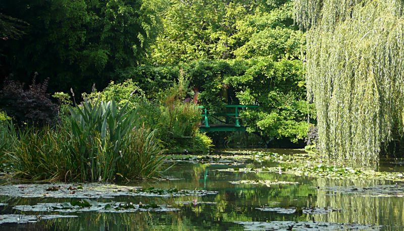 Giverny garden