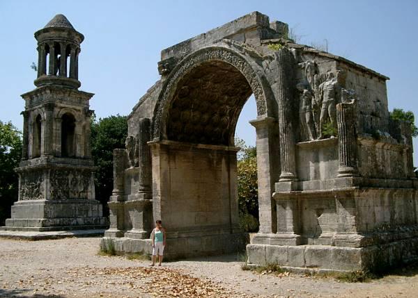 Roman ruins Glanum