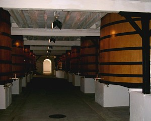 Barrel fermentation Chateau Mouton-Rothschild