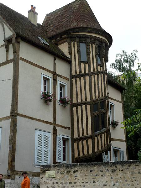 Half-timbered house Chartres