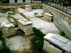 Ancient cemetery Paros