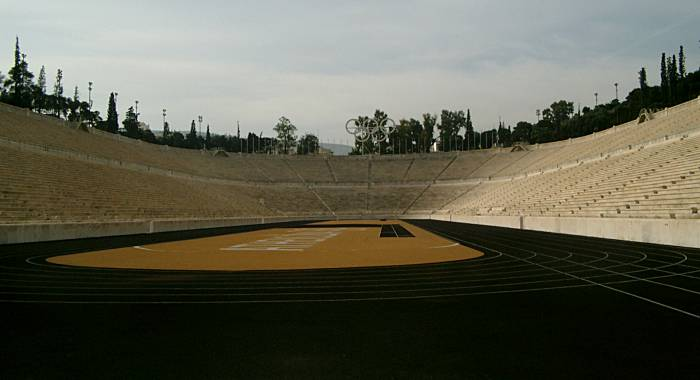 Olympic Stadium of 1st modern Olympics