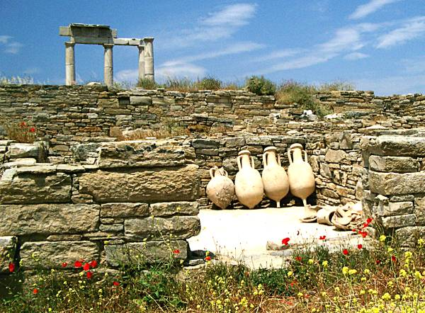 Pottery at Delos