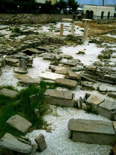Ancient Greek Tombs Paros