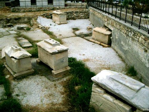 Greek Tombs Paros