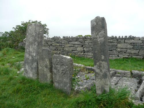 Roman Grave Stones Inishmor Ireland