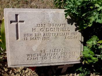 Grave plaque