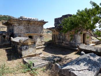 Sarcophagus and mausolea