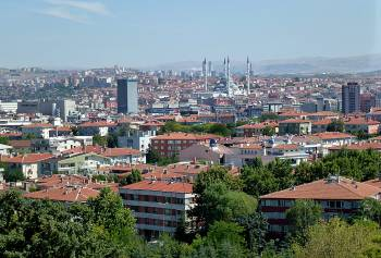 Ankara from Mausoleum