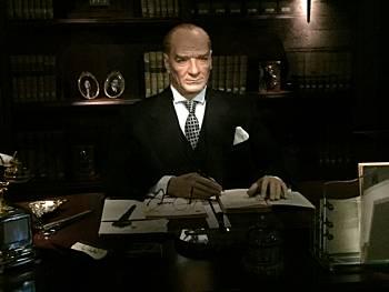 Ataturk wax figure