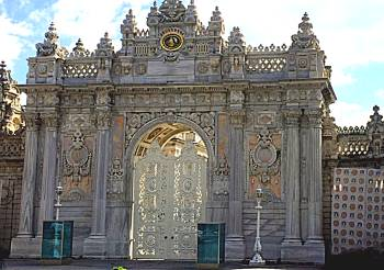 Dolmabahce main gate