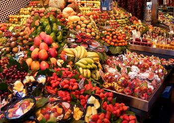 Boqueria fruit