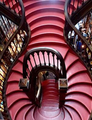 Livraria staircase