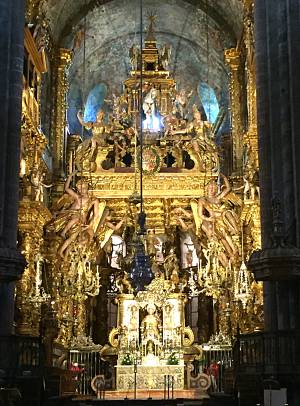 Santiago Cathedral main altar