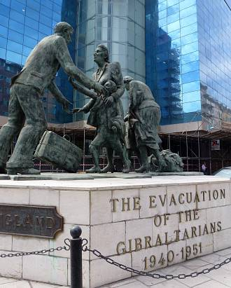 Evacuation memorial