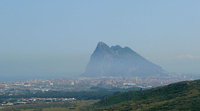 Gibraltar from Spain