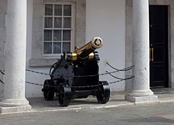 Guard House cannon