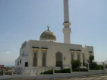 Mosque at Europa Point