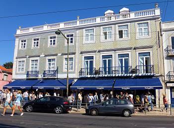 Pastel de Belem shop